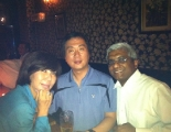 Seoul bar with DK\'s friends...