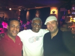 With my friends Andro and Mambo Jack at a salsa club in Beijing