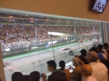 A F1 grand stand seat