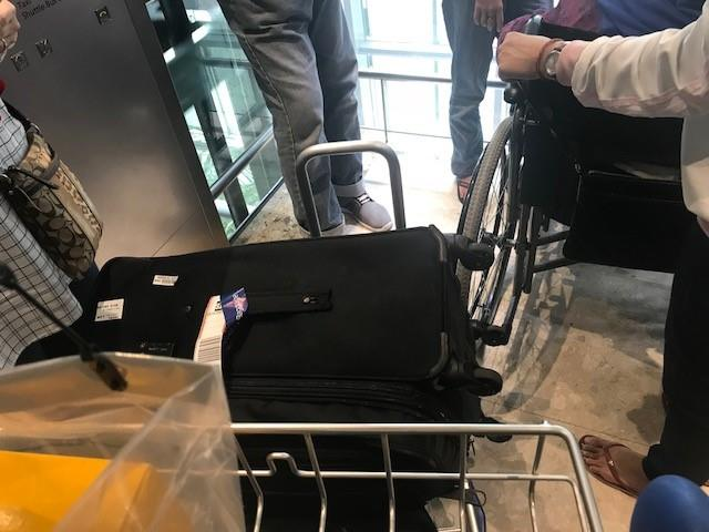 "Come on! Elevators that can hardly take two trollies, let alone wheel chairs? Who built this ""world class"" airport?"