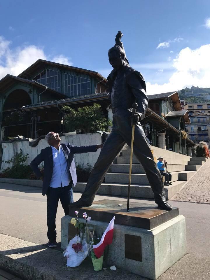 Freddie Mercury's Statue